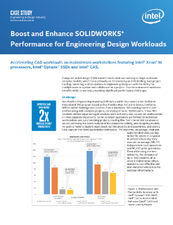 Boost SOLIDWORKS* Performance for Engineering Workloads