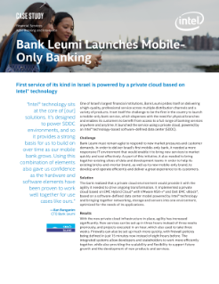 Bank Leumi* Launches Israel's First Mobile-Only Bank