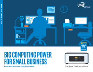 Intel® NUC Kit NUC5CPYH: A PC Replacement for Small Businesses