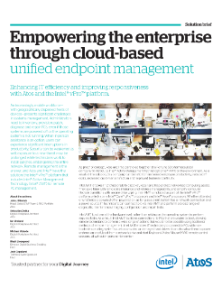 Cloud Based Unified Endpoint Management