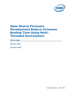 Reduce Firmware Booting Time in Multi-Threaded Environment
